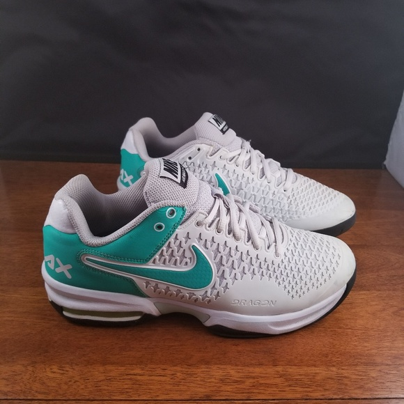 Women's Nike Air Max Dragon Cage Green White Shoes